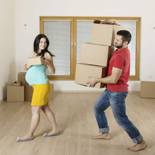преместване бременност