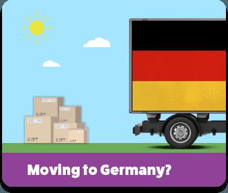 Преместване в Германия